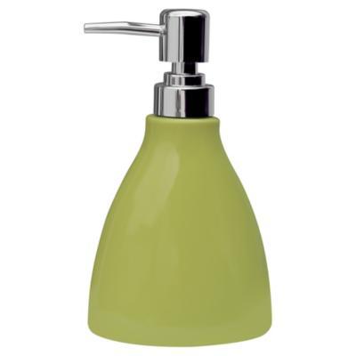 Dispensador de jabón para baño verde
