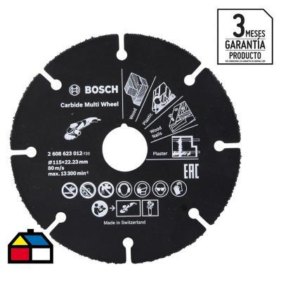 Disco para esmeril 115 mm acero
