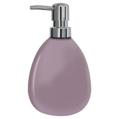 Dispensador de jabón para baño lila