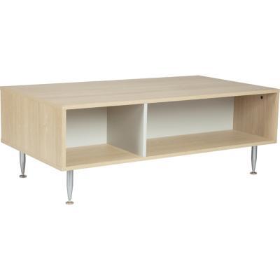 Mesa de centro 62x50x45 cm roble claro