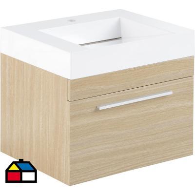 Mueble vanitorio 60x50x48 cm Beige