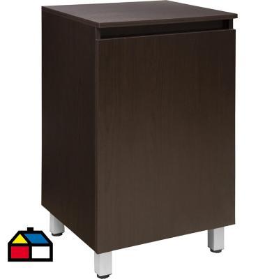 Mueble vanitorio 50x80x46 cm Nuez