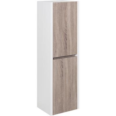 Mueble lateral para baño 30x28x120 cm blanco