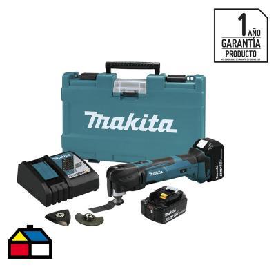 Multiherramienta inalámbrica 18V + 2 baterías