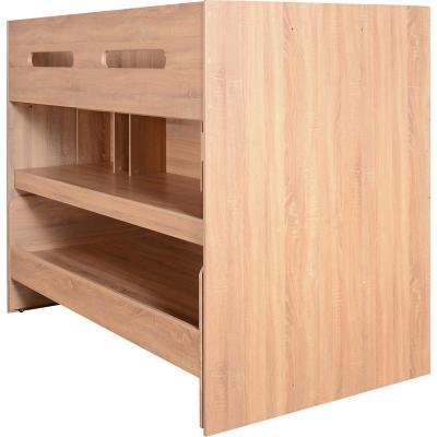 Camarote 1,5 plaza 153x215x289 multifuncional oak