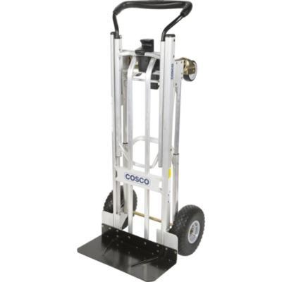 Carro de carga manual aluminio 3 posiciones