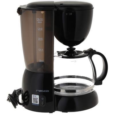 Cafetera eléctrica 1,2 litros negro