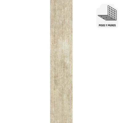 Porcelanato 15x60 cm 1,26 m2 beige
