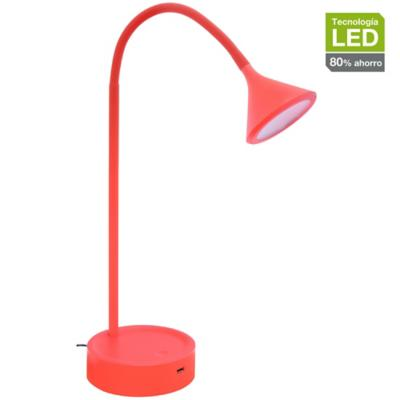 Lámpara de escritorio LED 51 cm 4,5 W