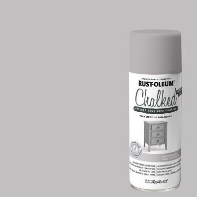 Chalked pintura tizada en aerosol Gris Envejecido 340g