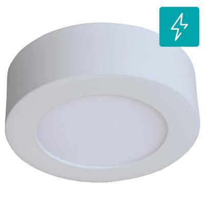 Panel sobrepuesto circular LED 6 W