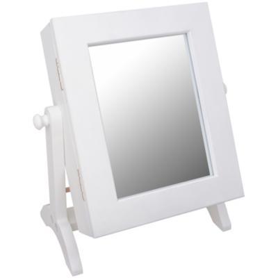 Espejo organizador 17,5x21,5 cm blanco