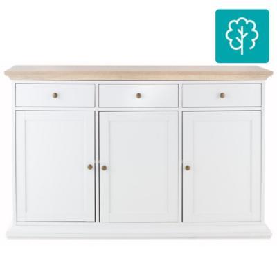 Buffet 91x144x46 cm blanco