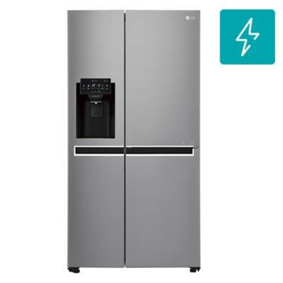 Refrigerador side by side 601 litros silver