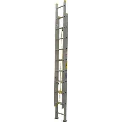 Escala telescópica aluminio 20 Peldaños  Resistencia 90 kilos