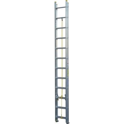 Escala telescópica aluminio 24 Peldaños Resistencia 90 kilos