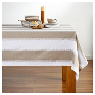 Mantel 180x240 cm algodón beige