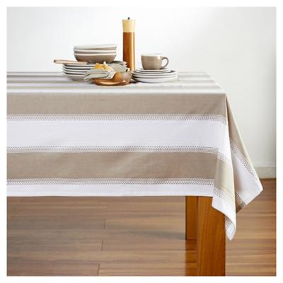 Mantel 180x270 cm algodón beige