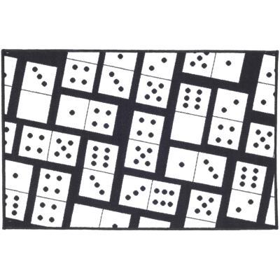 Alfombra Domino 80x120 cm multicolor