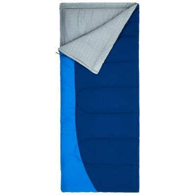Saco de dormir recto azul navy
