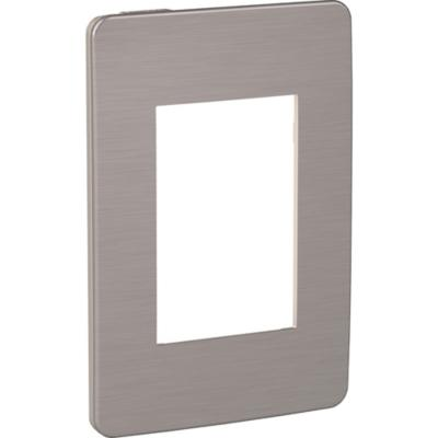 Placa modular   3 módulos - Beige/Corona bronce Orion