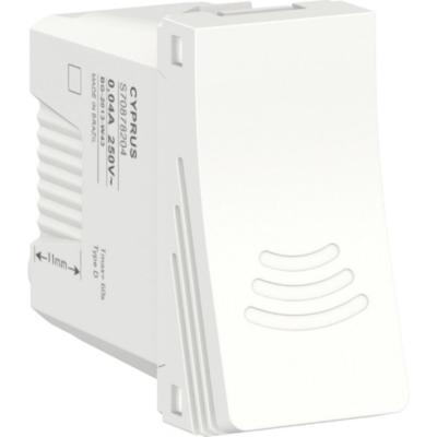 Módulo interruptor chicarra 16 A Blanco