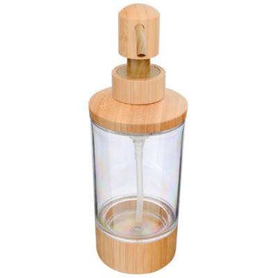 Dispensador de jabón para baño bambú