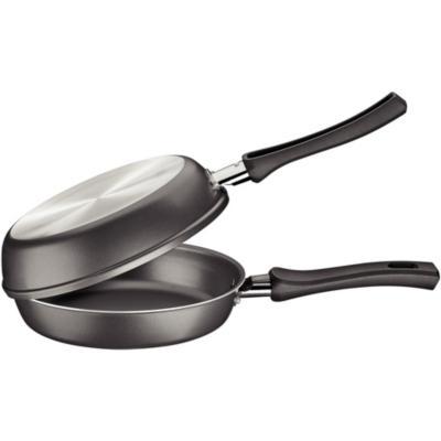 Sartén tortillero antiadherente aluminio 20 cm negro
