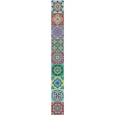 Sticker decorativo India 5,5x46 cm 6 unidades