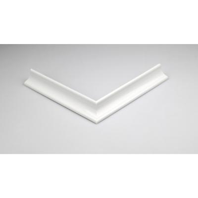 Perfil dos vías PVC 80 cm blanco