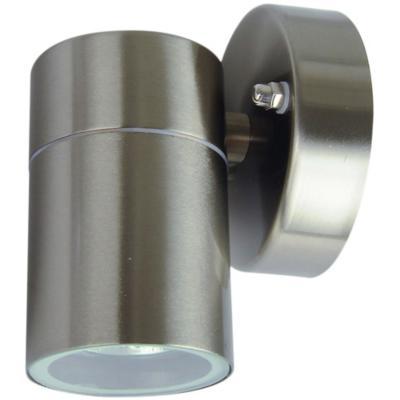 Apliqué Cilindro II acero inoxidable gris