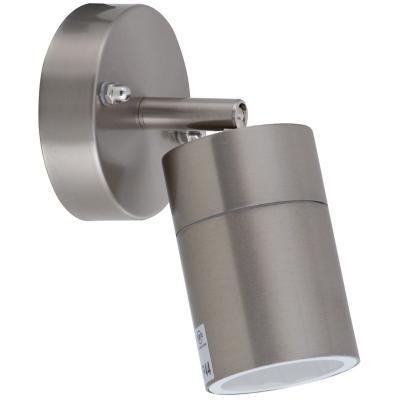 Apliqué Cilindro II IP44 metal gris