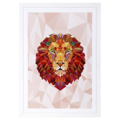 Cuadro 50x35 cm Red Lion Madera
