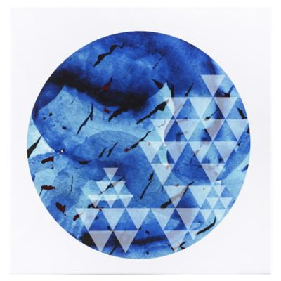 Canvas decorativo Blue Moon 60x60 cm