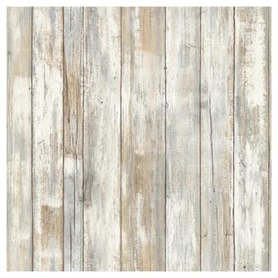Rollos autoadhesivos Reutilizables madera tratada 52x503 cm