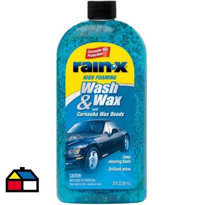 Shampoo con cera para auto 591 ml