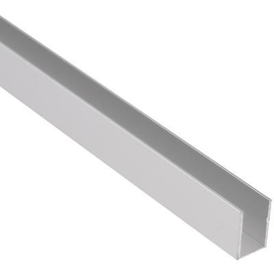Perfil  10x10x1.000 mm U T-espejo