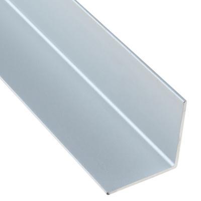 Angulo 10x10x2.000 mm aluminio satinado