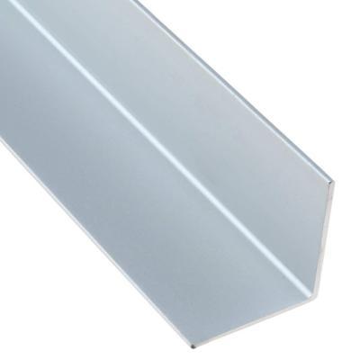 Angulo 20x20x2.600 mm aluminio satinado