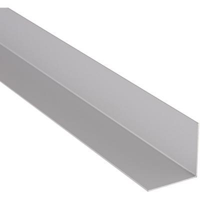 Angulo 40x40x1.000 mm satinado plata