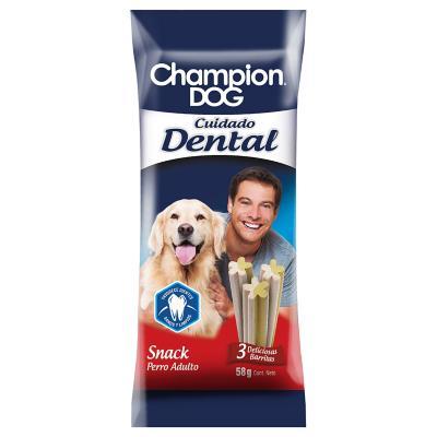 Snack para perro adulto 58 gr cuidado dental