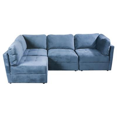 Seccional 285x190x85 cm azul