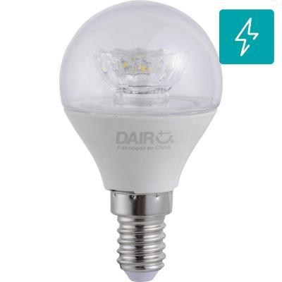 Ampolleta LED mini globo E14 5W luz fría
