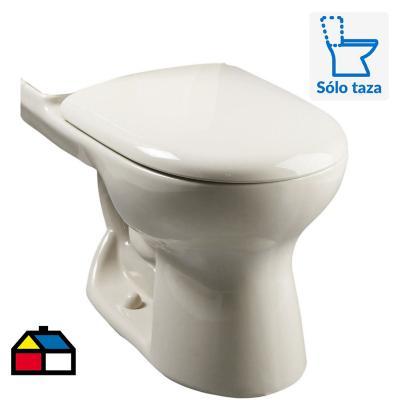 Taza WC Ecoclean 6 litros bone