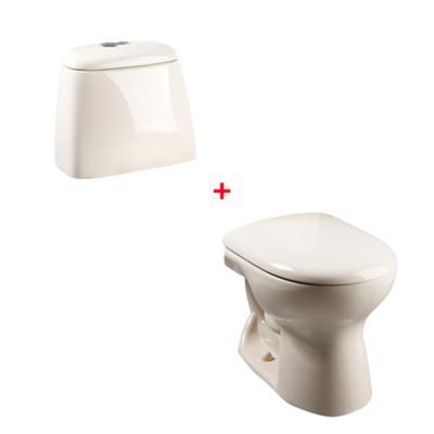 Combo WC Ecoclean + Estanque Ecoclean Bone