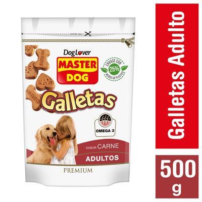 Snack galleta para perro adulto 500 gr carne