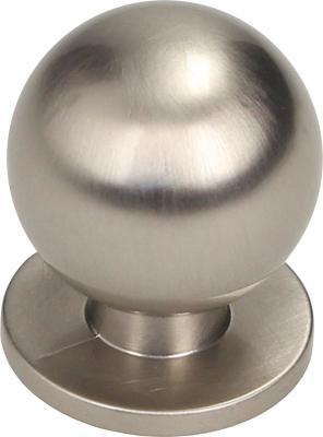 Perilla 22mm níquel cepillado