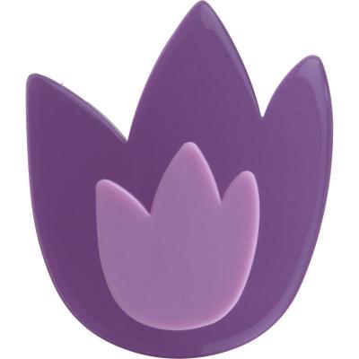 Tulipán morado metacrilato