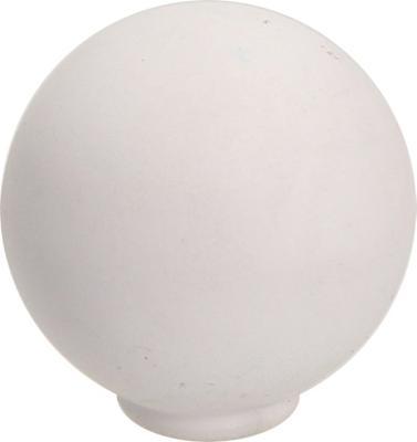 Perilla abs 29 mm blanco mate