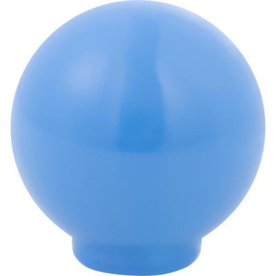 Perilla abs 29 mm azul medio brillo